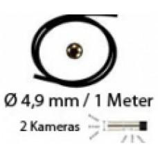 2in1 Videoendoskopkabel Front,- und Seitkamera 4,9mm / 1 Meter