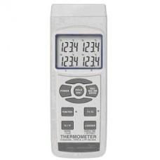 4-Kanal-Datenlogger-Thermometer PCE-T390 mit SD Speicherkarte